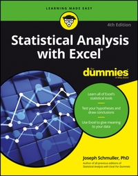 Statistical Analysis with Excel For Dumm