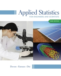 Applied Statistics for Engineers and Sci