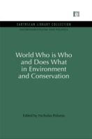 World Who Is Who and Does What in Enviro
