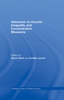 Advances on Income Inequality and Concen