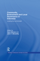Community, Environment and Local Governa