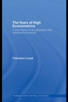 Years of High Econometrics