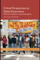 Critical Perspectives on Global Governan