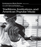 Traditions, Institutions, and American P