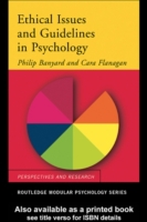 Ethical Issues and Guidelines in Psychol