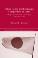 Public Policy and Economic Competition i