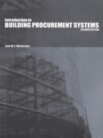Introduction to Building Procurement Sys