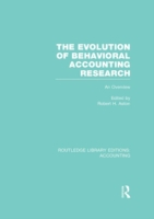 Evolution of Behavioral Accounting Resea