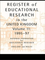 Register of Educational Research in the