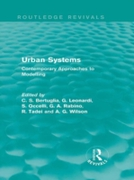 Urban Systems (Routledge Revivals)