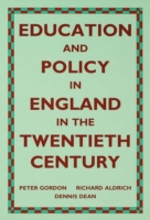 Education and Policy in England in the T