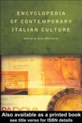 Encyclopedia of Contemporary Italian Cul