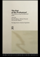 End of the Professions?
