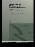 Democracy and Efficiency in the Economic