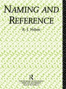 Naming and Reference