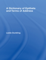 Dictionary of Epithets and Terms of Addr