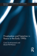 Privatization and Transition in Russia i