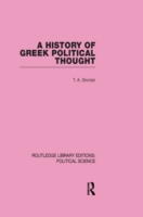 History of Greek Political Thought