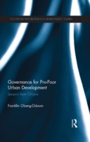 Governance for Pro-Poor Urban Developmen