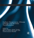 Carbon Governance, Climate Change and Bu