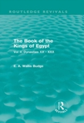 Book of the Kings of Egypt (Routledge Re