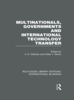 Multinationals, Governments and Internat