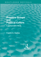 Pressure Groups and Political Culture (R