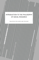 Introduction To The Philosophy Of Social