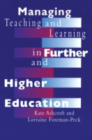 Managing Teaching and Learning in Furthe