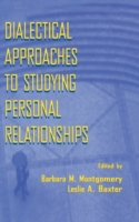 Dialectical Approaches to Studying Perso