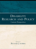 Disability Research and Policy