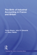 Birth of Industrial Accounting in France