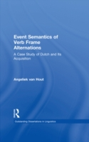 Event Semantics of Verb Frame Alternatio