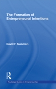 Forming Entrepreneurial Intentions