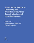 Public Sector Reform in Developing and T