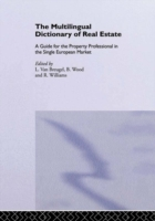 Multilingual Dictionary of Real Estate