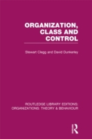 Organization, Class and Control (RLE: Or