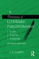 Dictionary of Literary Pseudonyms in the