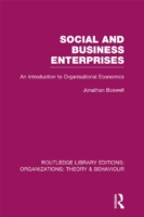 Social and Business Enterprises (RLE: Or