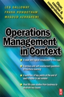 Operations Management in Context