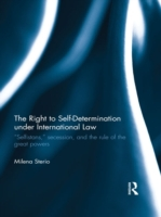 Right to Self-determination Under Intern
