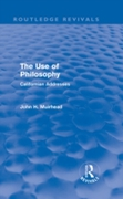 Use of Philosophy (Routledge Revivals)