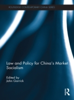 Law and Policy for China's Market Social