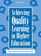 Achieving Quality Learning in Higher Edu