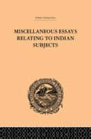Miscellaneous Essays Relating to Indian