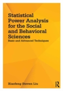 Statistical Power Analysis for the Socia