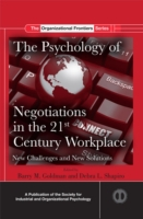 Psychology of Negotiations in the 21st C