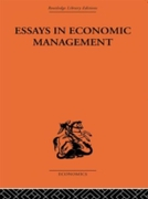 Essays in Economic Management