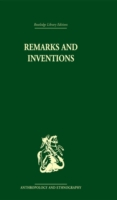 Remarks and Inventions