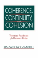 Coherence, Continuity, and Cohesion
